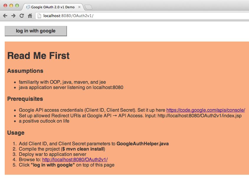 Setting up OAuth 2 with Google Java APIs | Example | OCPsoft | OCPsoft